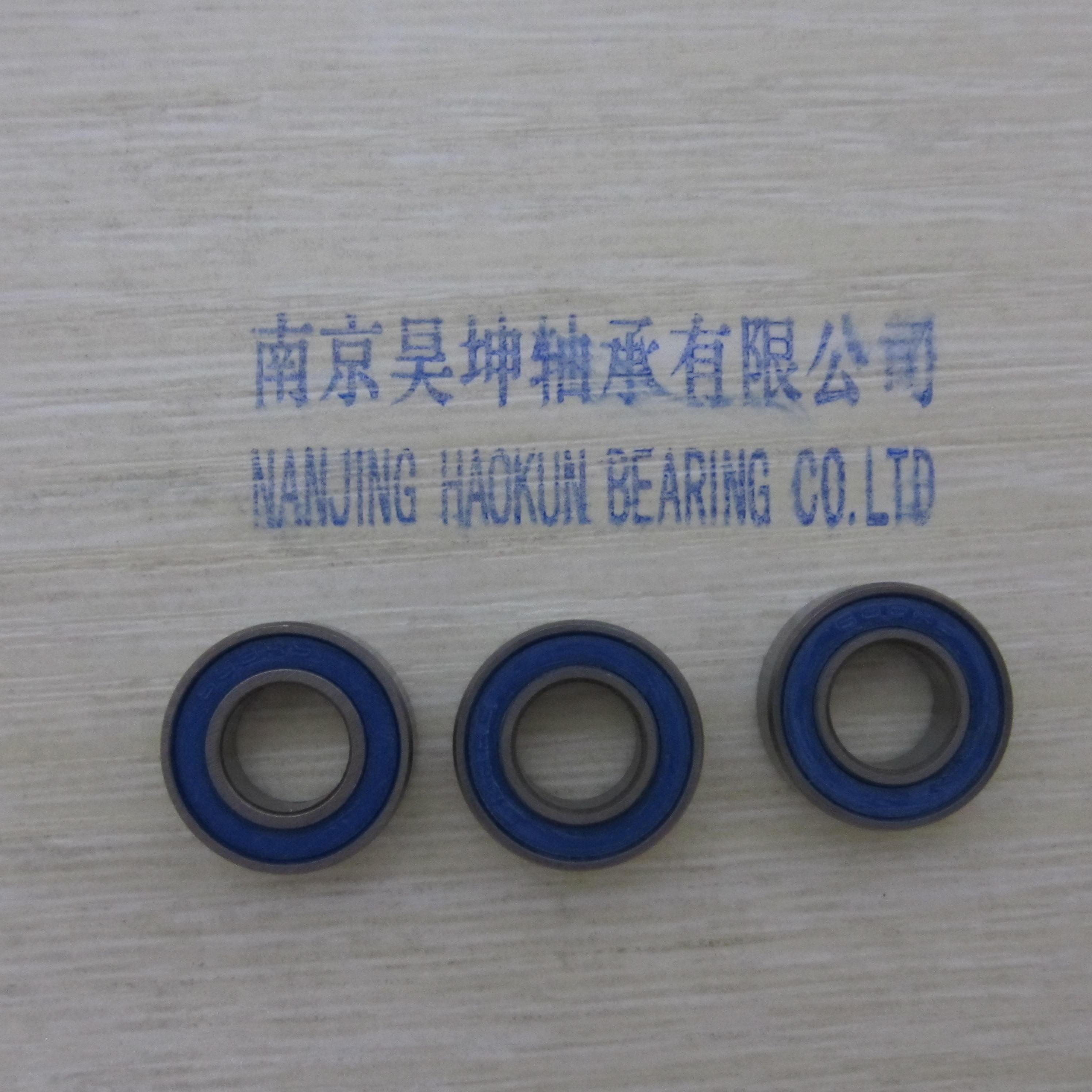 Cojinete de cubo de rueda 15267-2rs 15*26*7mm s15267-2rs CE DE ACERO INOXIDABLE 15267 Si3N4 rodamiento de cerámica híbrido