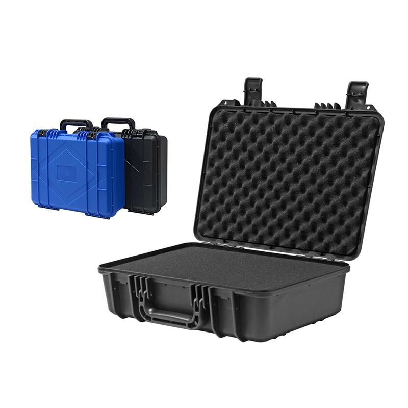 Усиленный Безопасный инструмент ящик для инструментов пластиковый хранения