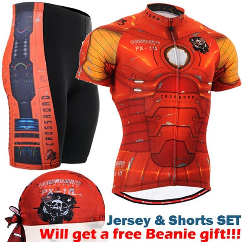2017 крутые мужские комплекты для велоспорта с коротким рукавом, летние спортивные комплекты с изображением паука для горного велосипеда, ве...