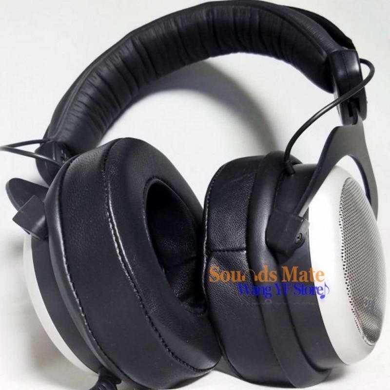 Genuine Lambskin Leather Ear Pad For Beyerdynamic DT770 DT660 DT440  MMX 300,CUSTOM ONE PRO PLUS Headphone Foam Cushion EarMuff