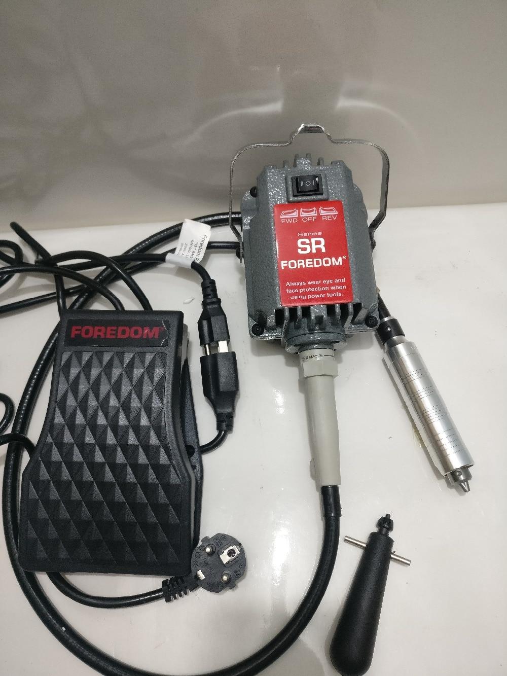 Foredom SR flexshaft machine,dental polishing motor,flexible shaft machine,watch engraving burnishing grinding rotary tool kit