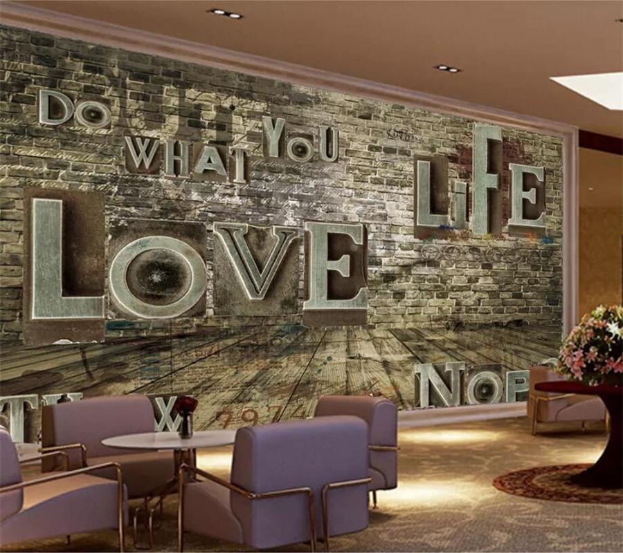 Wellyu-papel tapiz con foto personalizada 3D para pared, papel tapiz Retro nostálgico...