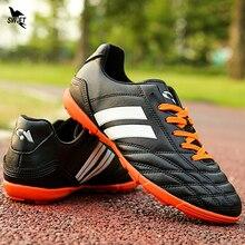 30-45 hommes gazon Football chaussures 2020 nouveaux garçons enfants professionnel Football bottes TF Fotball crampons Original dur Court Futsal chaussures