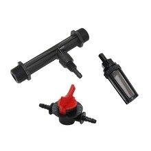 Injecteur dengrais Venturi dirrigation   Avec filetage masculin de 1/2, 3/4 pouces, vanne de contrôle du débit à 4 vitesses, kit de filtre à eau 1 ensemble