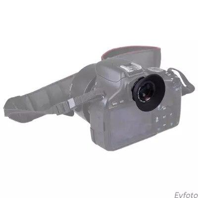 Lente de aumento del visor de la cámara del Zoom 1.08X-1.60X para la cámara Canon/Nikon/Pentax/Sony/Olympus/Fujifilm/Samsung SLR DSLR