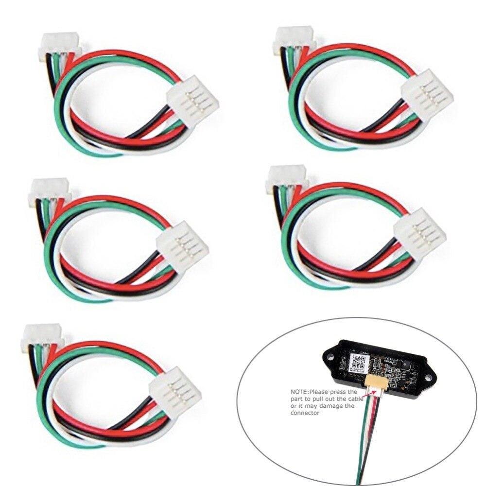 5 pçs/lote 10cm Cabo para Sensor De Telêmetro TFmini Lidar Único-Ponto Micro Módulo Variando FZ3000-C