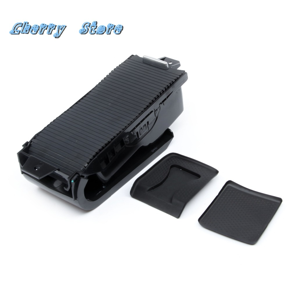 NEW 1K0 862 531A82V Plastic Black European Center Console Armrest Drink Cup Holder For VW Jetta MK5 Golf MK6 Scirocco 1K0862531A
