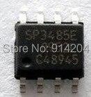 50 unids/lote SP3485EN SOP-8 SP3485E SP3485 + 3,3 V transceptores de RS-485 semidúplex de baja potencia con velocidad de datos de 10Mbps