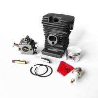 180 chainsaw cylinder piston with 180 ZAMA carburetor oil pump spark plug