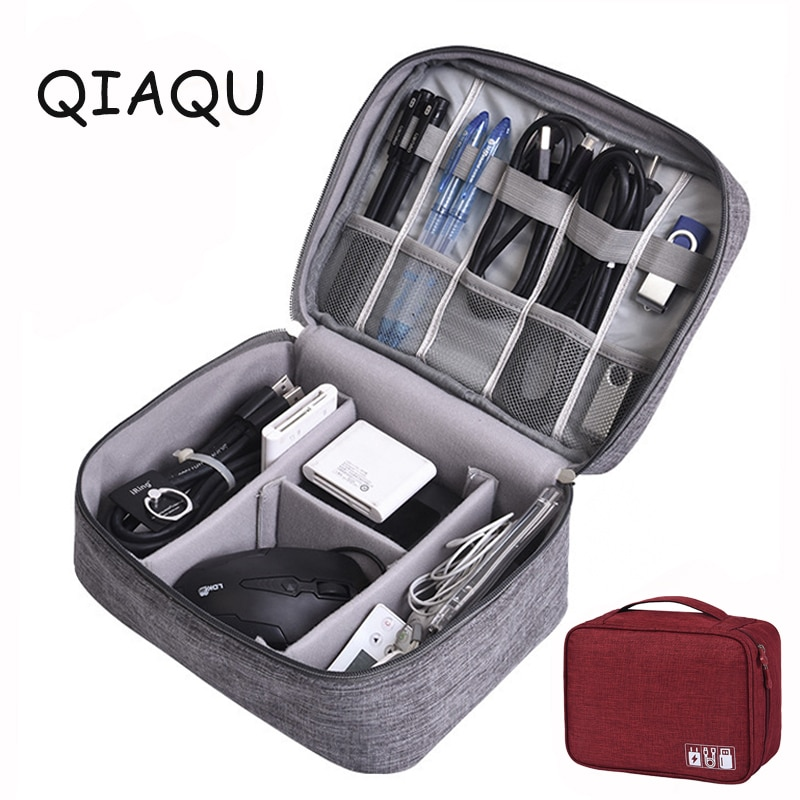 Travel Accessories Cable Bag Portable Digital USB Finishing Gadget Organizer Charger Wires mskeup Po