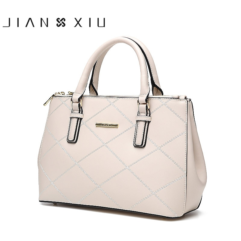 JIANXIU Brand Women Leather Handbags Messenger Bag Split Handbag Female Shoulder Bag 2018 New Fashion Tassen Sac a Main Tote Bag