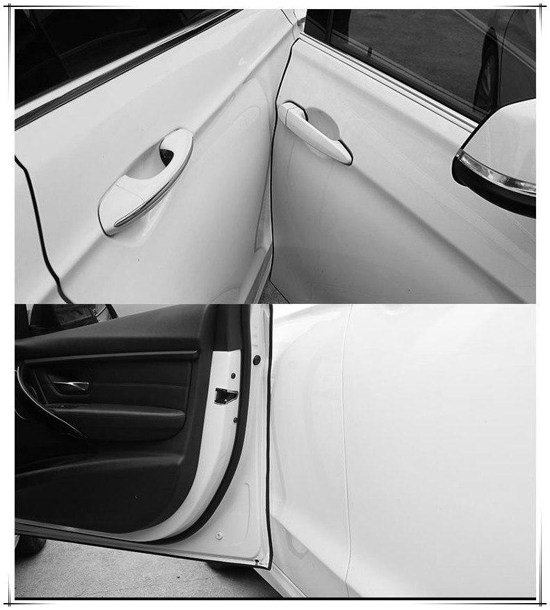 5M Estilo de coche Borde de puerta guardias cinta de ajuste de...
