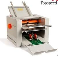 2020 new automatic paper folding machine paper folder machine with 4 folding trays 210x620mm