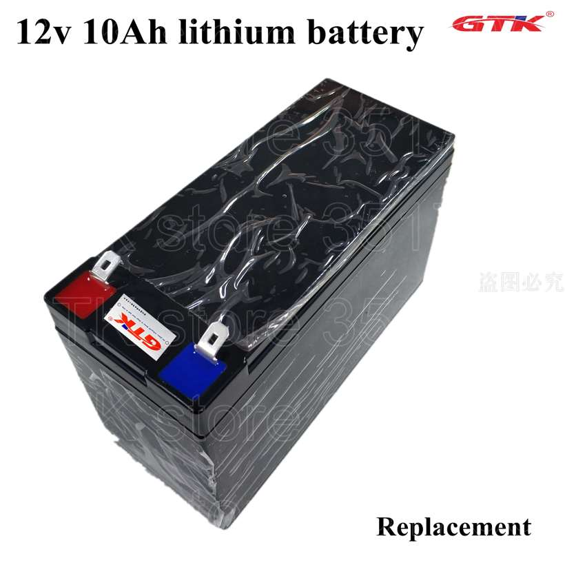 Alta calidad 12V 12AH 11AH 10AH 9AH 8AH 7AH 6AH batería recargable de ión-litio no ácido de plomo para la potencia de iones de litio 100w coche juguete led