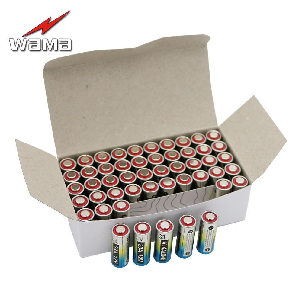 50 pcs/caixa Nova wama bateria 27a bateria 12 v bateria 12 v 12 v bateria alcalina 27a a27 camping fogão a gás