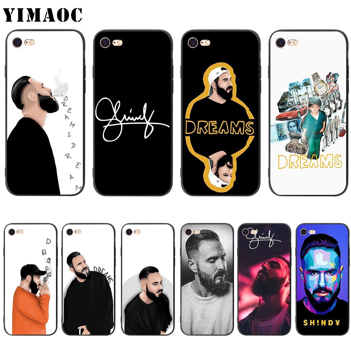 Мягкий силиконовый чехол YIMAOC Shindy Michael Schindler для iPhone 11 Pro XS Max XR X 8 7 6 6S Plus 5 5S se