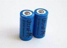 Литиево-ионные аккумуляторы LC 16340, 1200 мАч, 3,6 В, 3,7 В, с бесплатным зарядным устройством, фонариком, аккумулятором ego-t