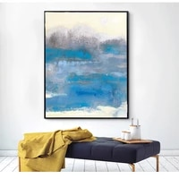 modern abstract painting canvas home decor living room dining room vertical hanging wall art picture painting printings