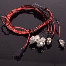 Nuevo ENRON RC 110 modelo de coche de noche 2P 5mm y 2P 3mm faros de luz led COCHE