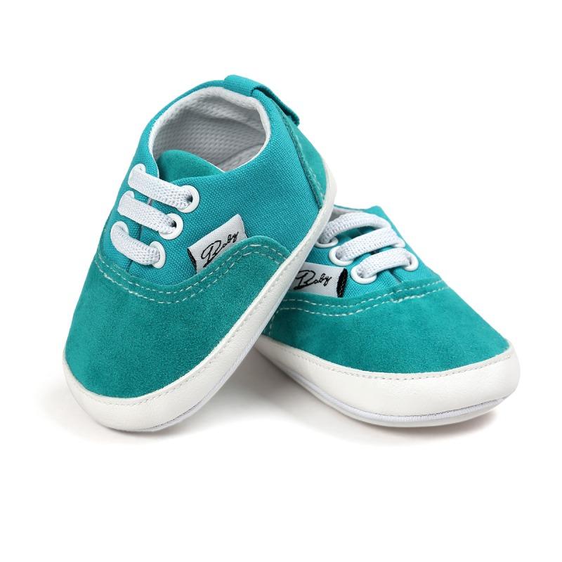 Wiosna Jesień Dziecko Noworodka Dziewczynka Chłopiec Miękkie Podeszwy antypoślizgowe Maluch Prewalker Niemowląt Sneaker Buty Na Co Dzień 18