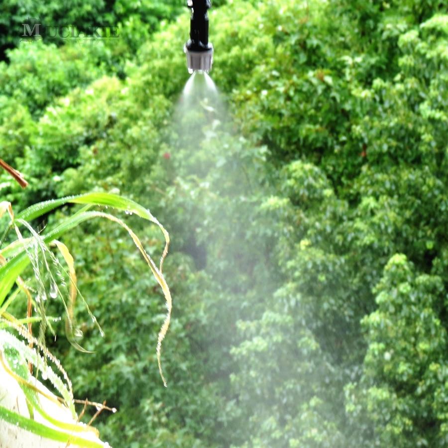 1 komplet namakalni sistem za zalivanje megle prenosni megleni - Vrtne potrebščine - Fotografija 2