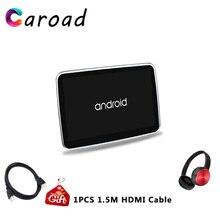 Caroad-système Android 10.1 lecteur DVD   Écran tactile HD 6.0 P, appui-tête de voiture, système Android 1080, avec WIFI/HDMI/USB/SD/Bluetooth/FM