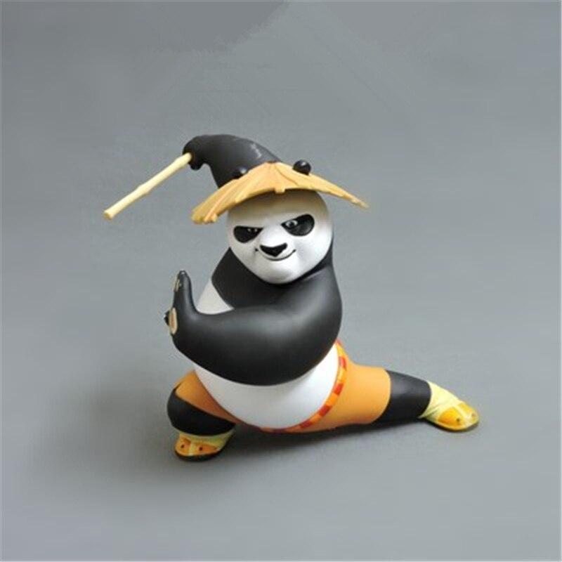 Kung Fu Panda Car Decoration Car Ornaments Interior Dashboard Decoration car accessories Birthday Gift Home Decor