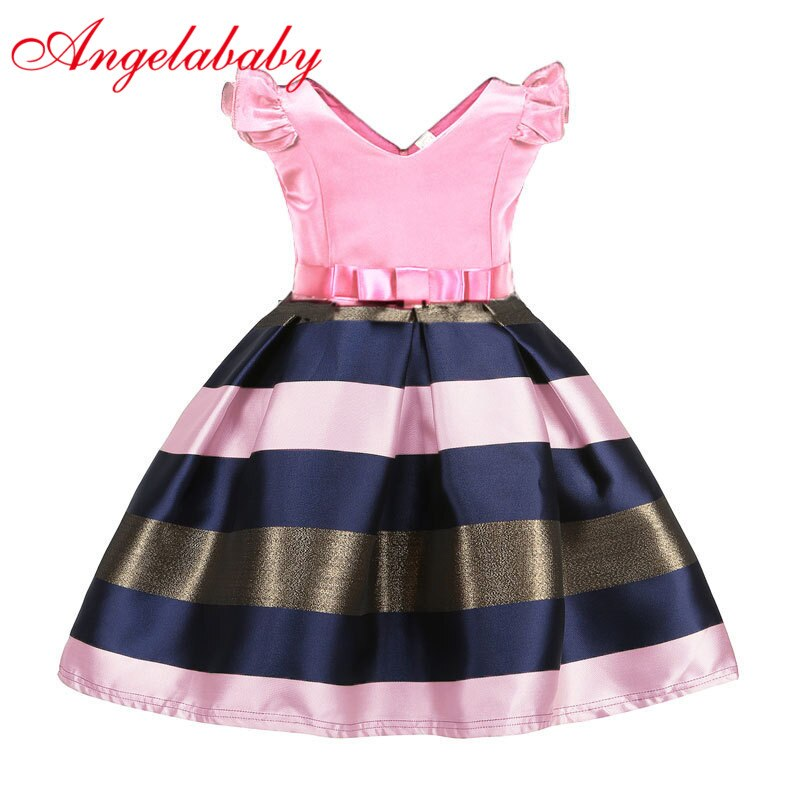 Vestido formal vestido de verão flor vestido menina princesa vestidos de fantasia menina vestido de festa de tule crianças vestido de baile 3-9 anos