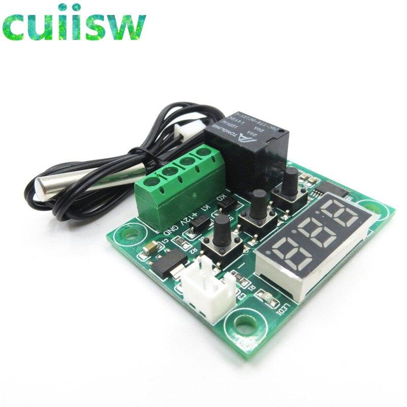 10 Uds. W1209-50-100C DC 12V control digital de temperatura termostato control de temperatura interruptor del termostato placa W1209