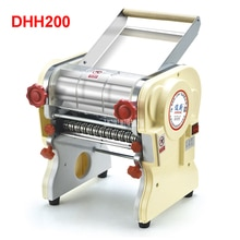 Máquina de prensado de pasta eléctrica doméstica de acero inoxidable DHH200, mecanismo Ganmian, fabricantes de fideos eléctricos comerciales 110V/ 220V