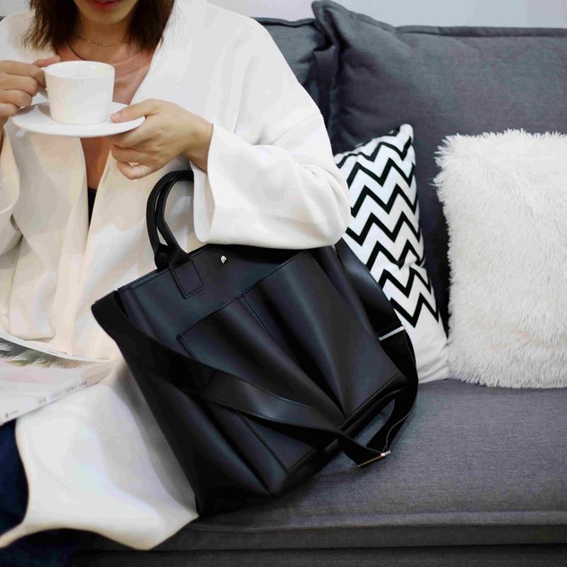 Сумка для ноутбука из искусственной кожи, простая женская сумка через плечо, винтажная, 2020