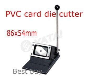 قاطع بطاقات PVC مقاس 86 × 54 مللي متر ، لقاطع بطاقات الهوية