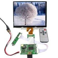 Placa controladora LCD HDMI con pantalla LCD IPS de 8 pulgadas 1024X768 HJ080IA-01E