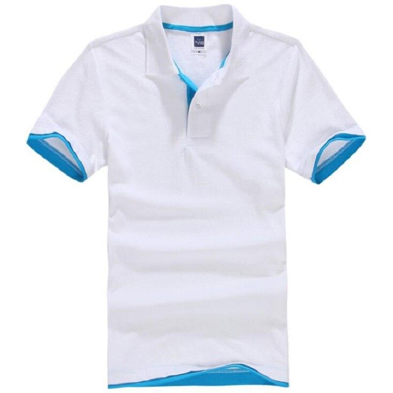 Polos de algodón de verano para hombre, camisetas de manga corta de marca, polos cortos, camisas masculinas para hombre