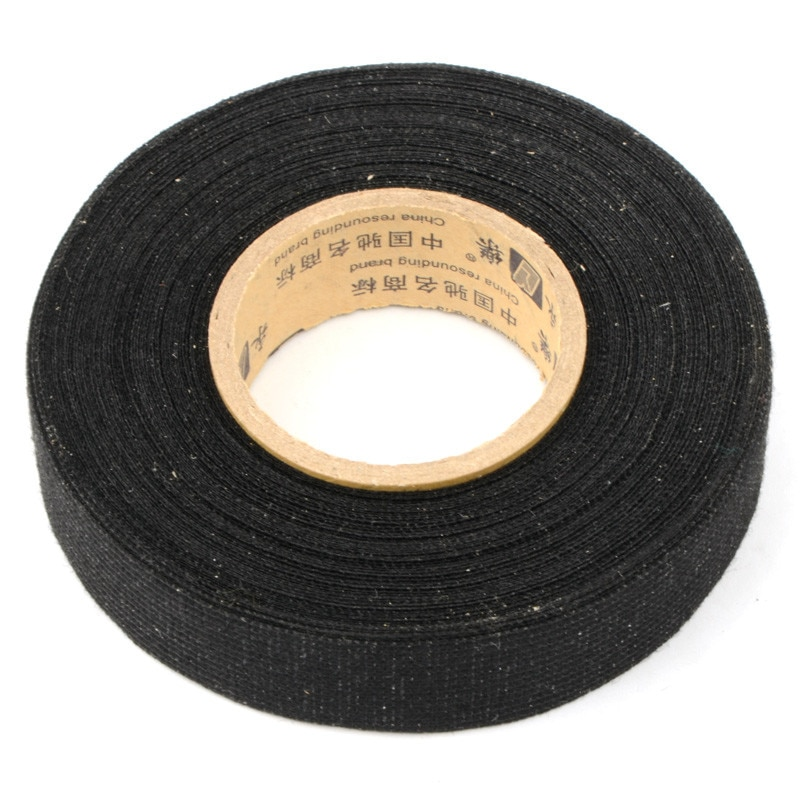 1 ud. Cinta adhesiva para ropa Coroplast Tesa de 19mm x 15m para arnés de cables telar P0.05