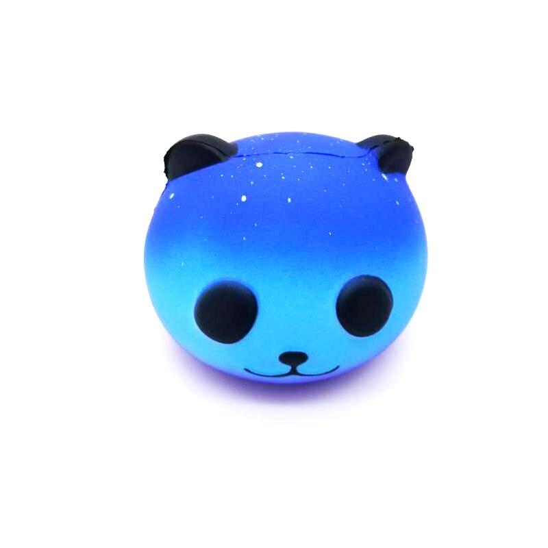 Jumbo perfumado Squishy Galaxy oso Super lento aumento estrés alivio exprimidor juguetes 8cm