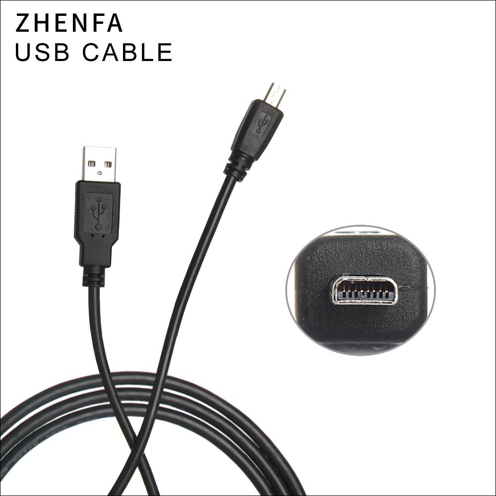 Zhenfa UC-E6 1,5 M 8 Pin Cable de datos USB de la cámara para Nikon Olympus Pentax Sony Panasonic Sanyo FinePix cargador USB de Cable
