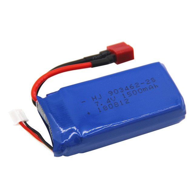 7,4 V 1500mAh Lipo batería para 12428 12423 FT009 FX067C barco RC lancha batería Lipo 2S 7,4 V 1500 mah
