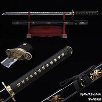Ninja Sword Handforged 1045 High Carbon Steel Full Tang Blade Japanese Katana Zinc Alloy Guard Sharp Ready-2019 New Arrival