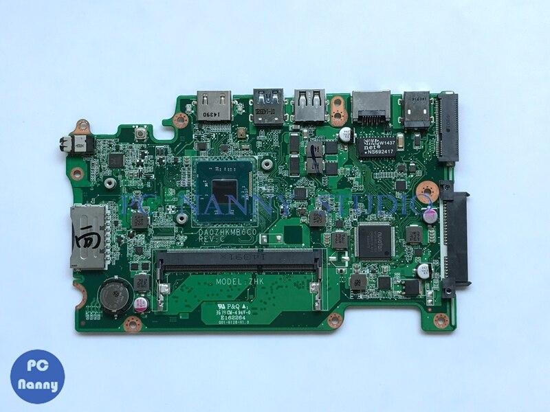NOKOTION NBMRQ11001 DA0ZHKMB6C0 placa base para Acer Aspire ES1-111 E3-112 V3-112P placa base de computadora portátil DDR3 w/procesador Celeron
