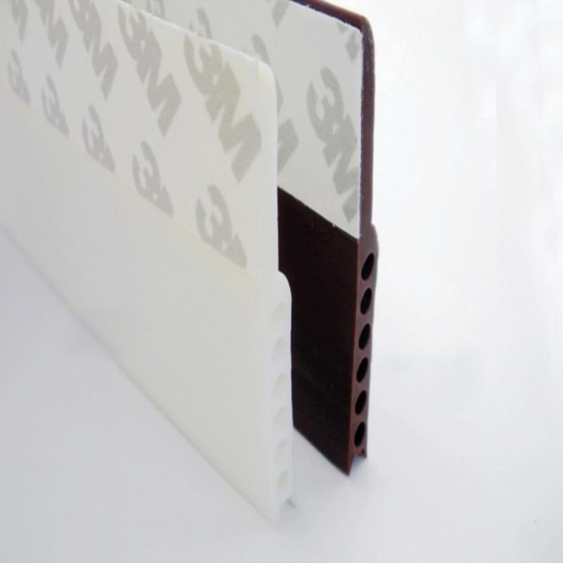 Cinta autoadhesiva de silicona para puerta y ventana, 1 Uds., cinta de sellado de goma de 3m, aislante acústico para burlete