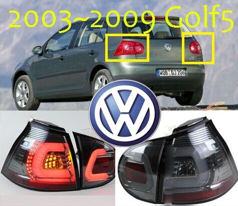Задний фонарь Golf5, 2003 ~ 2009, Бесплатная доставка! LED, 4 шт./компл., задний фонарь Golf5, противотуманная фара Golf5, Touareg, Polo, golf7, golf6, Golf 5