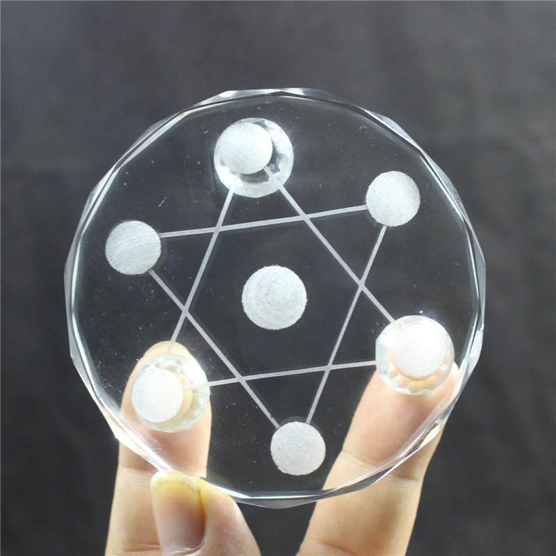 Новая 7-звездочная пластина, Азиатский кварцевый кристалл, целебный шар, подставка