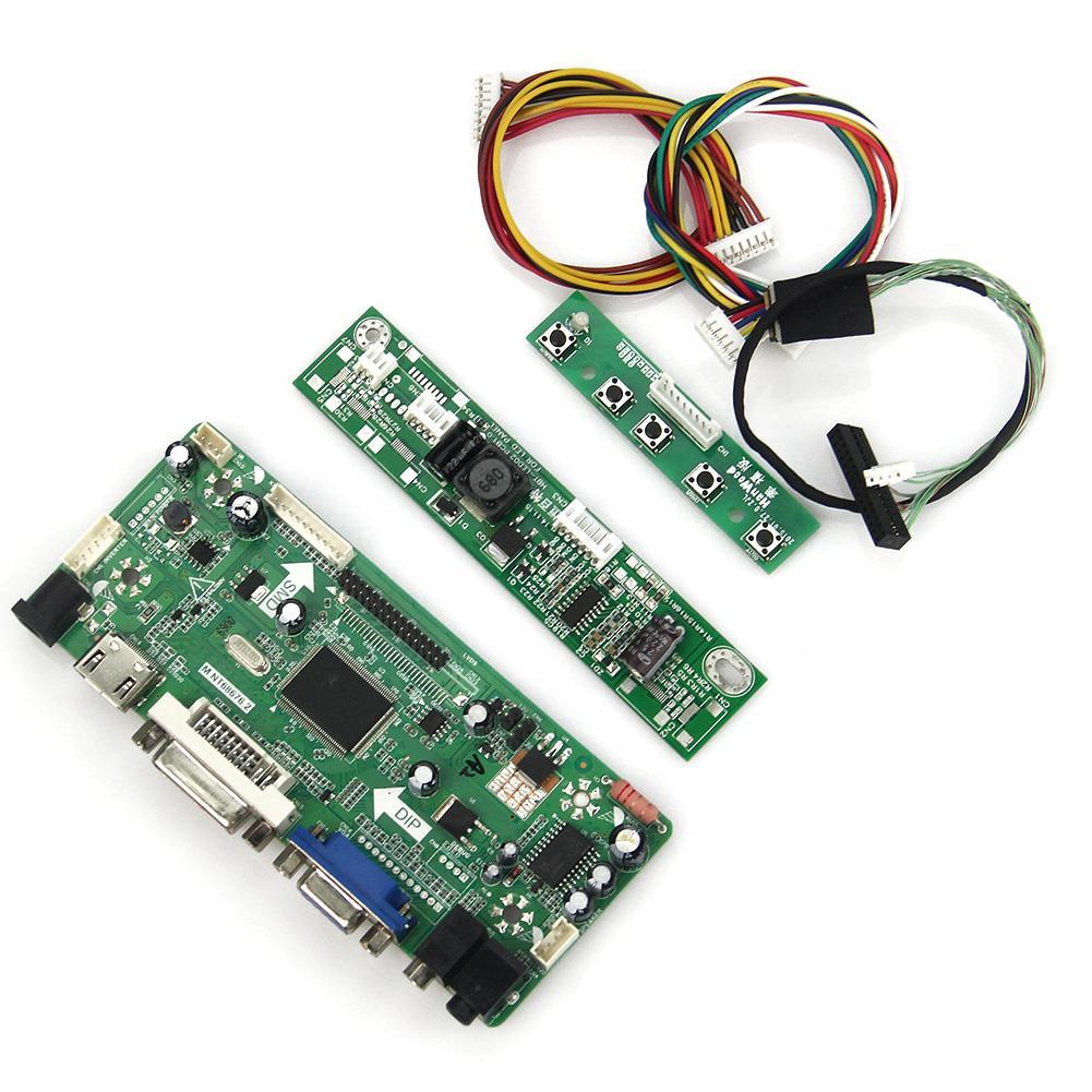 M.NT68676 LCD/LED Controller Driver Board(HDMI+VGA+DVI+Audio) For LP133WX3-TLA6 LTN133AT09  LVDS Monitor Reuse Laptop 1280*800