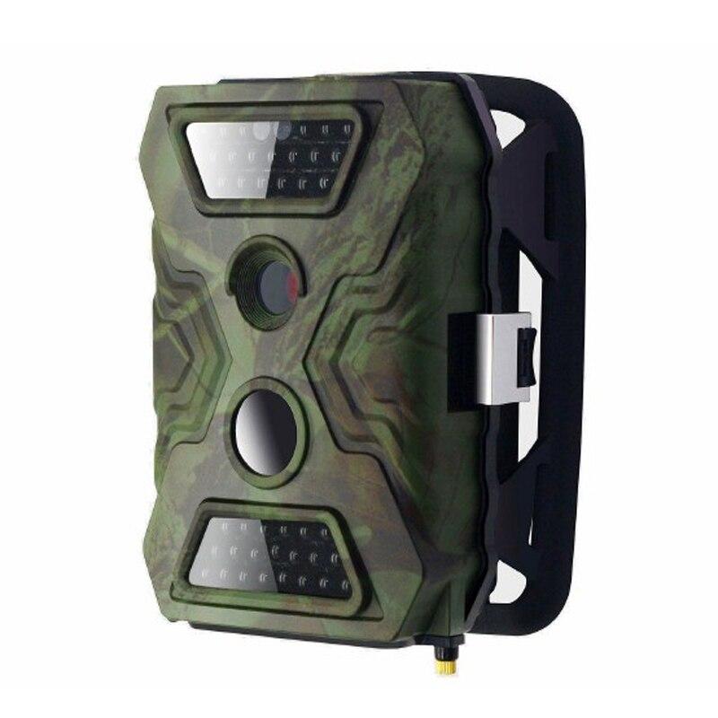 (1 Juego) 12MP PIR Scouting Trail cámara con 20 metros visión nocturna 8AA fuente de alimentación de la batería 720P grabación de vídeo y impermeable IP54