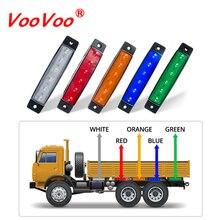 VooVoo Car LED Side Clearance Lamp Tail Reverse Turn Signal Light Truck Trailer Lorry Warning Fog Parking Lighting Bar 12V 24V
