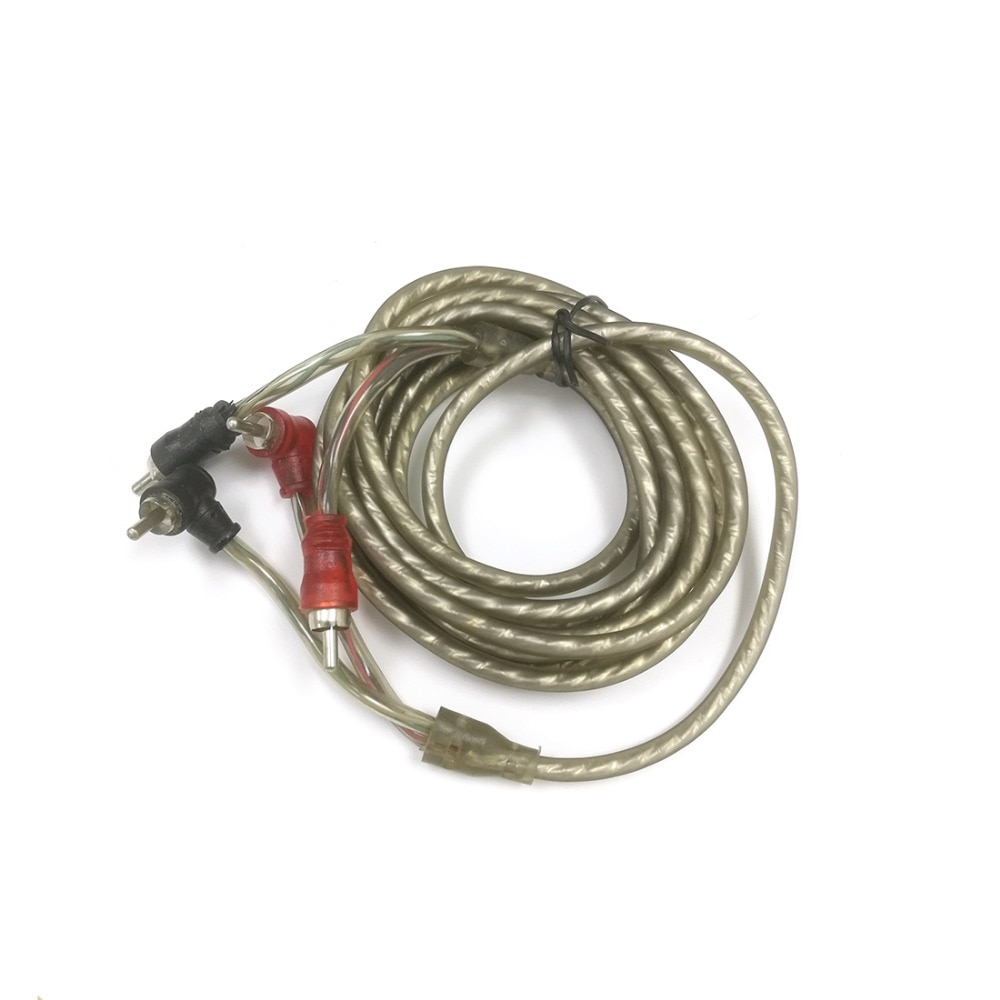 RCA Signal Extension Cable Male to Male Right Angle 2M Audio Cord