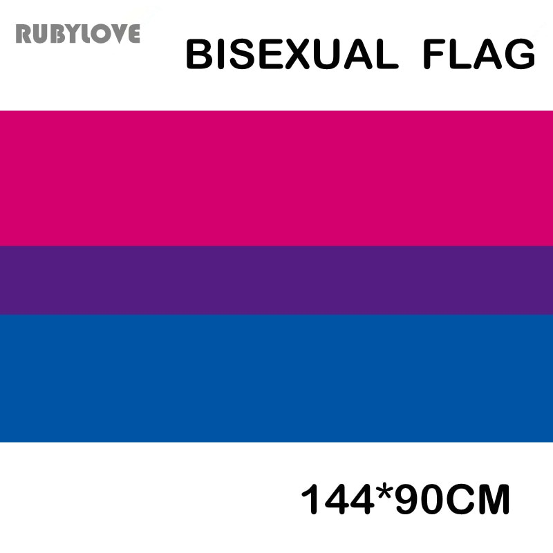 144*90cm Flag Bisexual Pride Flag LGBT GPD8303
