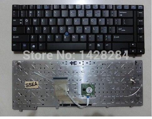 SSEA, Envío Gratis, nuevo y original, ordenador portátil de teclado para EE. UU. Para HP Compaq NC6400 6910P 6910, ordenador portátil