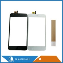 For Fly FS521 FS 521 Touch Screen Digitizer Panel New Mobile Phone Touch Screen With Tape 1PC /Lot